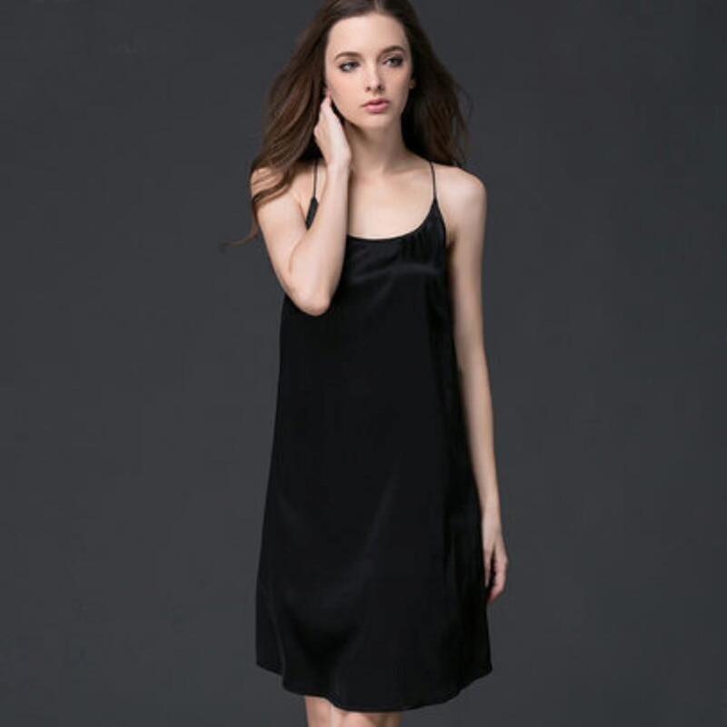 Blanc Manches Sans Lâche Soie Noir Femmes Mini Qualité Outwear D'été Haute Gratuite Camisole Robe Livraison Réel Blazers qEYxz5w