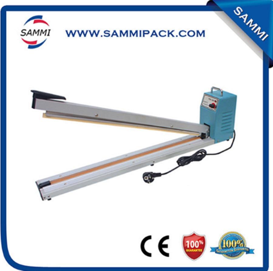 PFS-1000 manual impulse sealer machine for plastic bag(1000mm) упаковочное оборудование dls 16 pfs 400 pfs 400mm
