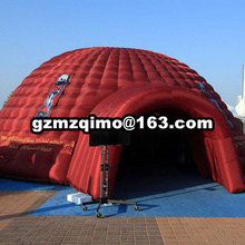 2018 World Cup inflatable football sports helmet tunnel tent 10x10x5mH oxford cloth giant inflatable dome tent giant durable fully new inflatable car garage tent with blowers