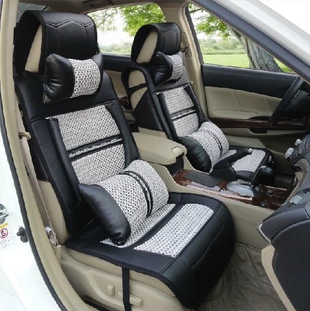 Bamboo Viscose Car Seat Leather Summer Four Seasons Mats Honda Crv In Whole Retail