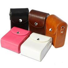 Leather Digital Camera Case Bag for Sony Cyber-shot DSC-HX9V