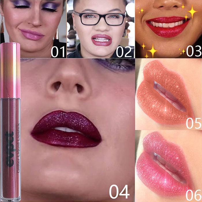 Glitter Makeup Cosmetic New Long Lasting Waterproof Soft Liquid Lip Gloss
