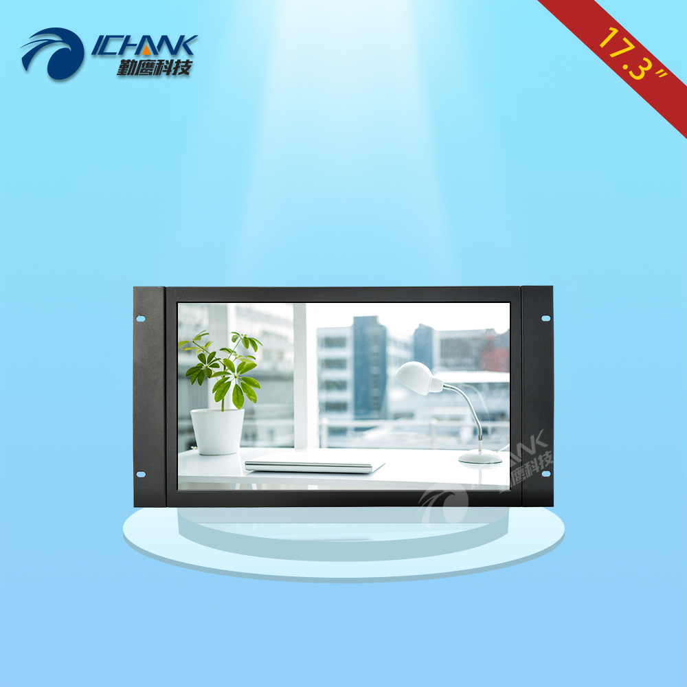 ZK173TN-V59/17.3 inch 1920x1080 16:9 1080p HDMI Metal Shell Embedded&Open Frame&Wall-mounted Remote Control Monitor LCD Screen zk101tc v59 10 1 inch 1280x800 full view hdmi vga metal shell embedded open frame industrial touch monitor lcd screen display