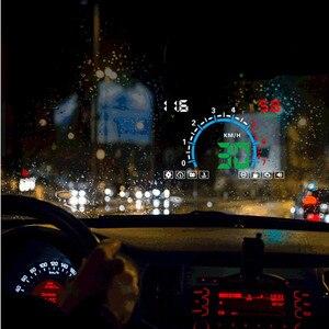 Image 4 - WiiYii pantalla frontal de coche HUD E350, alarma de velocidad automática OBD2, proyector de parabrisas, electrónica de coche, herramienta de diagnóstico de datos