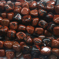 "Discount Wholesale Natural Genuine Red Black Mahogany Obsidian Nugget Loose Beads Free Form Beads 5-12mm Fit Jewelry 15"" 03889"
