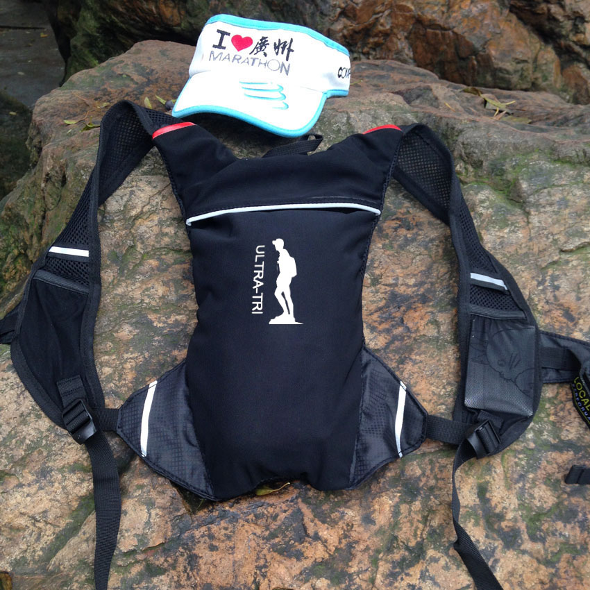 ULTRA TRI Customize Print Logo OEM Running Backpack Mini 2L Lightweight  Sport Bag Marathon Trail Run Jogging Hiking Cycling Pack-in Running Bags  from Sports ... 3e9e64f13db8d