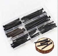 1box Black cement nail set 3/4/5/6/7/8 cm iron nail round nail wood nail wall nail painting nail