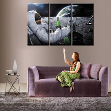3 pieces / sets Framed Movie Poster Series canvas wall art painting home decoration living room canvas print modern painting(China)