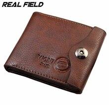 Trifold кредитных держателей hasp денег высокое емкости портмоне карт человека бумажник