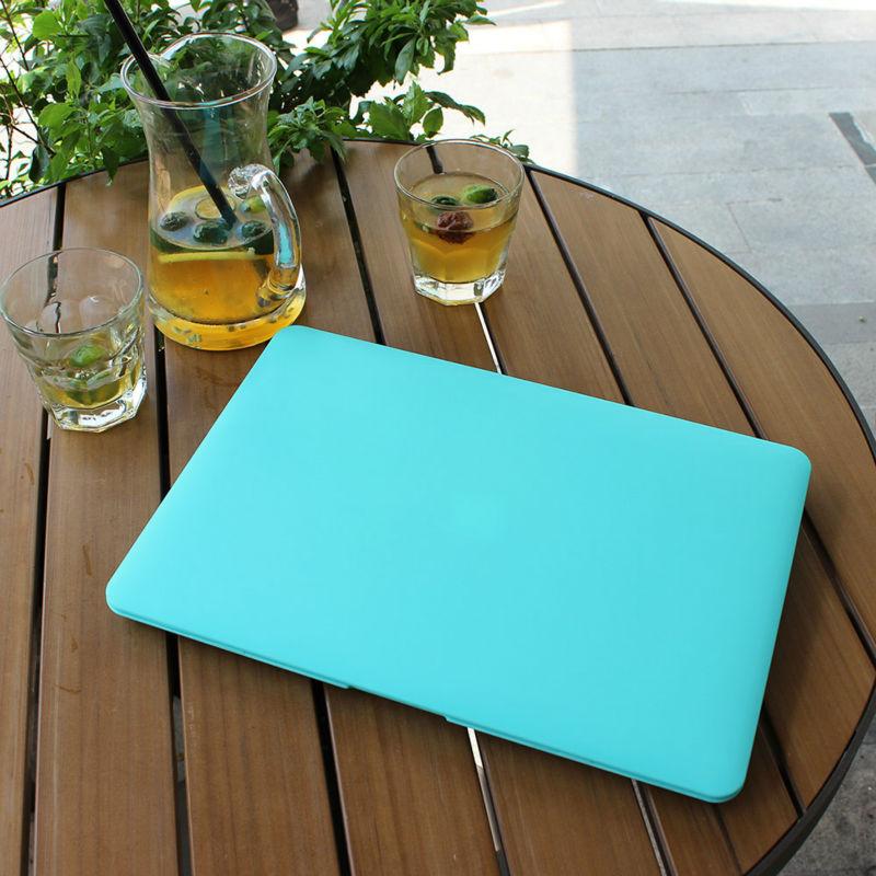 Обрезиненный матовый чехол для - Аксессуары для ноутбуков - Фотография 3