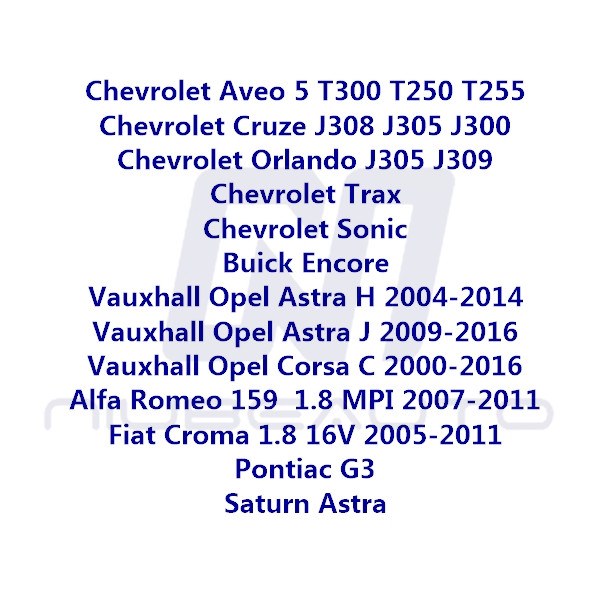 Opel Corsa C 2000-2016 Camshaft Follower Hydraulic Engine Service Replace Part