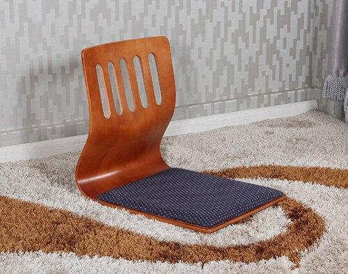 (2pcs/lot)Japanese Furniture Style For Living Room Kotatsu Cherry Finish Tatami Zaisu Legless Floor Seating Chairs Wholesale