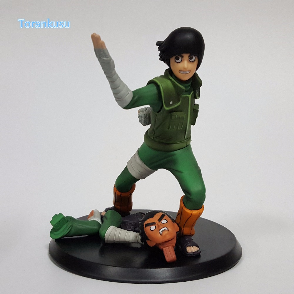 Naruto Action Figure Rock Lee PVC Figure 140mm Anime Naruto Shippuden Collectible Model Toy Konoha no Utsukushiki Aoi Yaju N04 hot anime naruto 4th hokage namikaze 6 action figure collectible pvc model gift toy