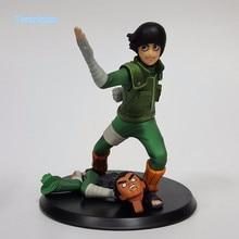 Naruto Action Figure Rock Lee PVC Figure 140mm Anime Naruto Shippuden Collectible Model Toy Konoha no Utsukushiki Aoi Yaju N04