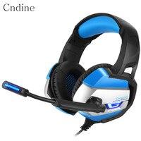 Gaming Headphones USB LED Wear Comfortable Headphone Gamer Adjustable Headband Black Blue Noise Cancel Headphones Gaming