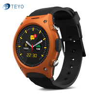 Teyo Outdoor Sports Smart Watch Q8 Bluetooth Smart Wristwatch Compass Pressure Altitude Monitor Activity Tracker For IOS Android