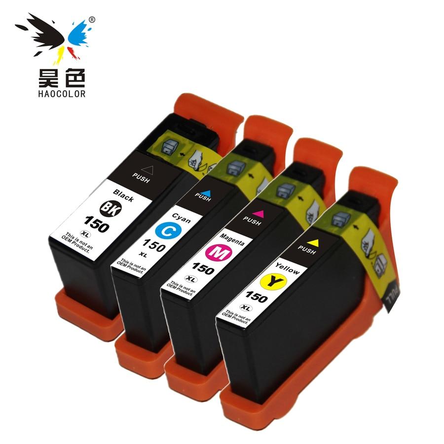 1 SET 150 150XL Compatible Ink Cartridges For Lexmark S315 S415 S515 Pro715 Pro915 Printer