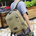 Squirrel fashion canvas preppy style solid unisex youth men backpacks vintage casual vogue hipster travel school bag  rucksacks