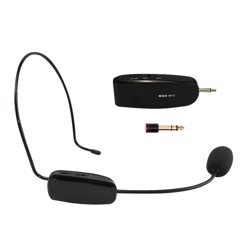 Anti-Pfeifen-Funktion Megaphon Upgrade 2.4G Wireless Mikrofon Speech Headset Megaphon Radio Lautes Mikrofon