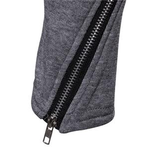 Image 5 - Artı boyutu erkekler rahat Hoodies tişörtü kapşonlu trençkot sonbahar moda uzun slim Fit trençkot erkek palto