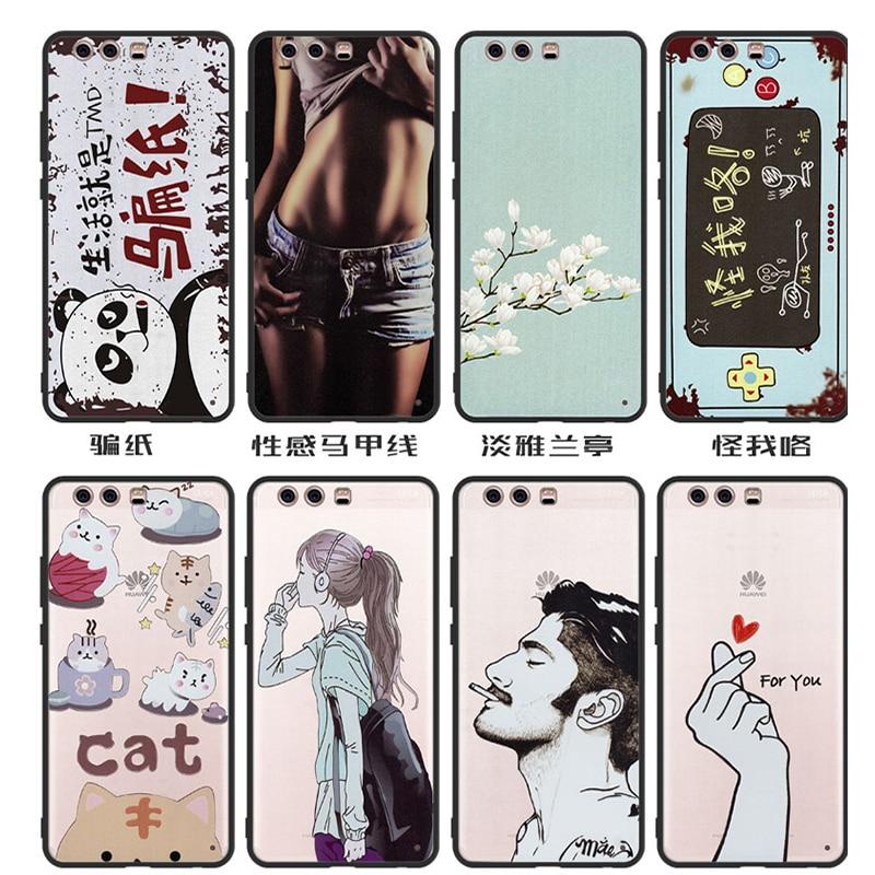 PC+TPU Case Huawei honor 9 Case Cover,Sexy girl Cartoon Case for huawei honor 9 Case original 100% BiNFUL