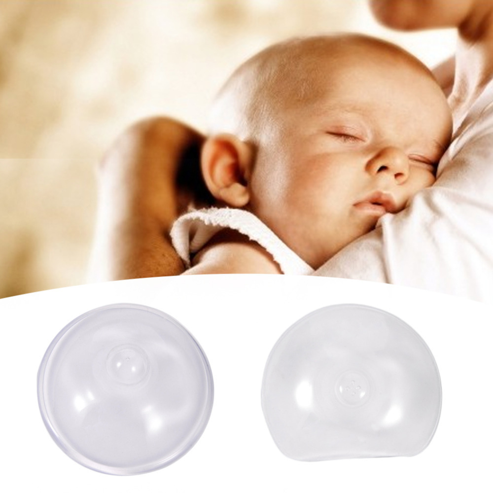2pcs Soft Silicone Nipple Shield Protector Nursing Breast Nipple Baby Milk Feeding Supplie Nipple Shields Protectors with box