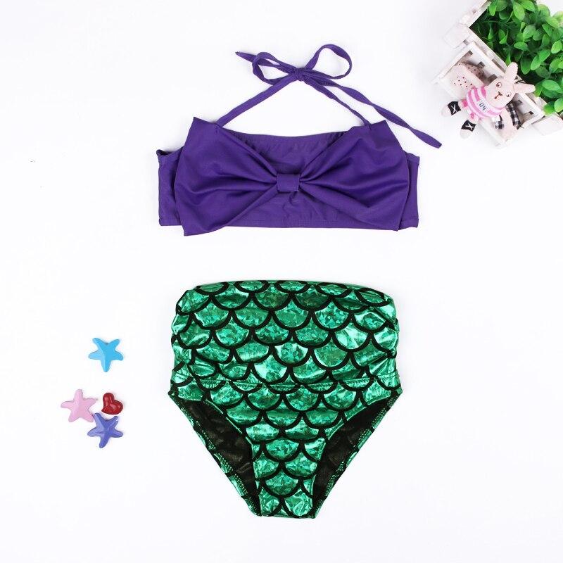 f35651c8977bb Toddler Kids Baby Girls Mermaid Swimsuit Tankini Bikini Set Summer Children  Swimwear Bathing Suit-in Clothing Sets from Mother & Kids on Aliexpress.com  ...