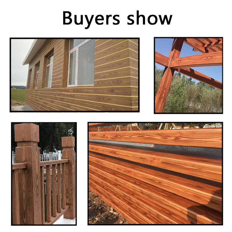 Купить с кэшбэком Wall Painting Tool sets  3 Inch 6 Inch Imitation Wood Grain Paint Roller Brush Wall Texture Art Painting Tool Set2PCS
