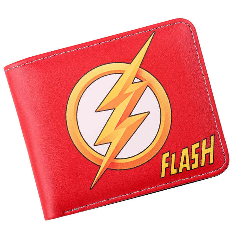 30a6b50bc1 Detail Feedback Questions about The Flash Comic Logo Bi Fold Wallet ...