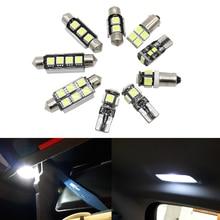 21pcs LED interior light Kit For Mercedes Benz M ML class W164 ML320 ML350 ML420 ML450 ML500 ML63 AMG (06-11) License plate bulb