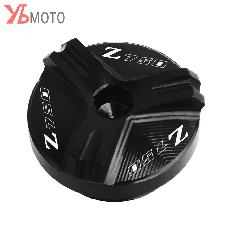 Image 4 - Flash Deals FOR KAWASAKI Z750/S 2004 2005 2006 2007 2008 2009 2010 Accessories Motorcycle CNC Oil Filler Cap Plug With Logo-in Covers & Ornamental Mouldings from Automobiles & Motorcycles