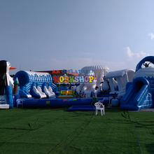 inflatable water equipment, ground attractions