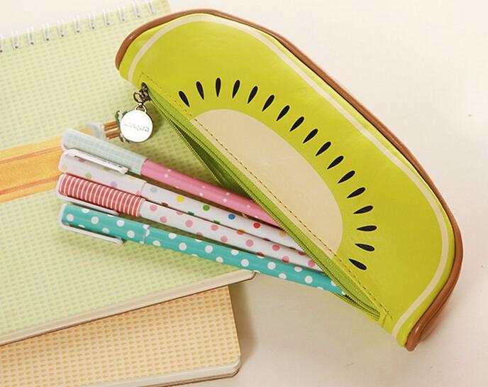 New-Arrival-High-Quality-School-Supplie-Cute-Originality-Fruit-Pattern-Pencil-Case-PU-Leather-Pencil-Bag