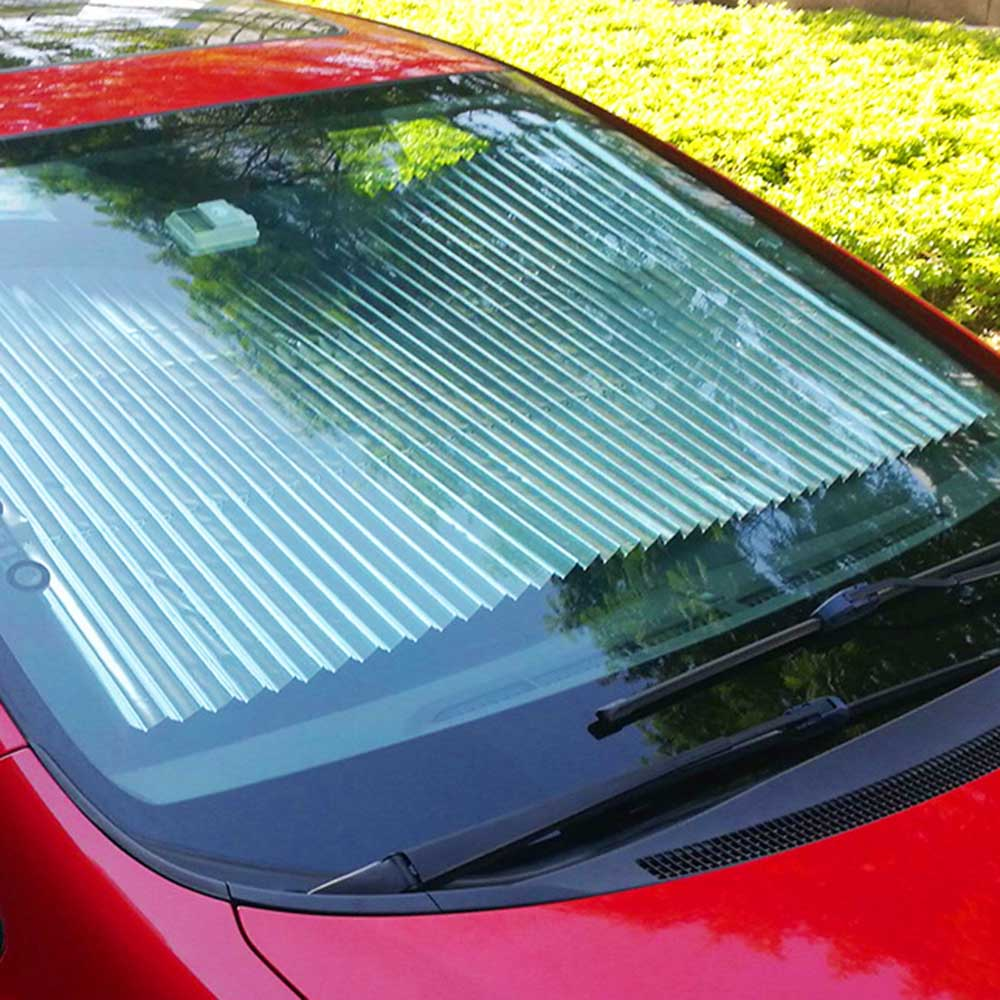 Car Window Sunshade Retractable Folding Windshield Sunshade Cover ...
