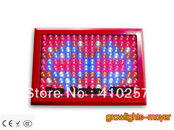 Red shell 480W Led Grow Light 160*3W built with optical lens best for Medicinal plants growth and flowering stage dropshipping