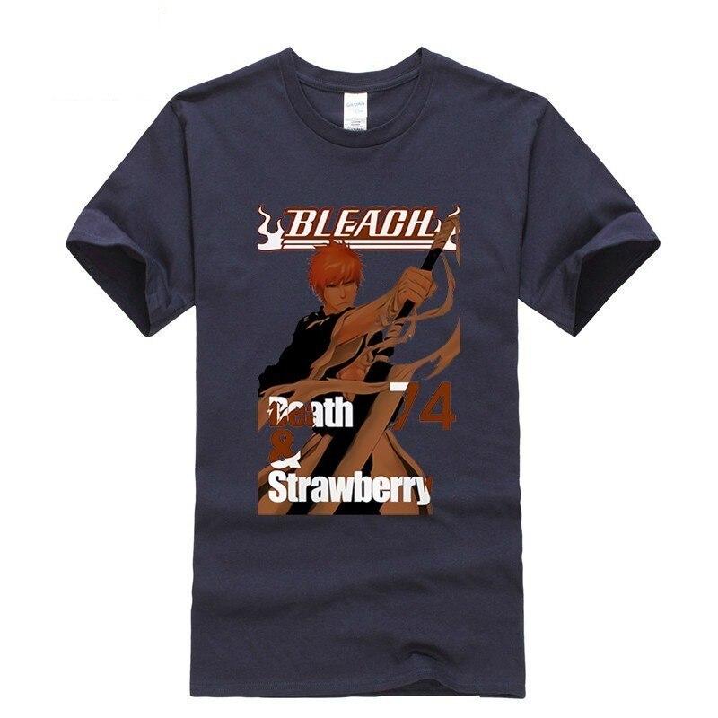 2019 new T shirt Kurosaki Ichigo bleach Leisure Japan Anime Cartoon comics Summer dress men tee street Funny t shirt Cozy in T Shirts from Men 39 s Clothing