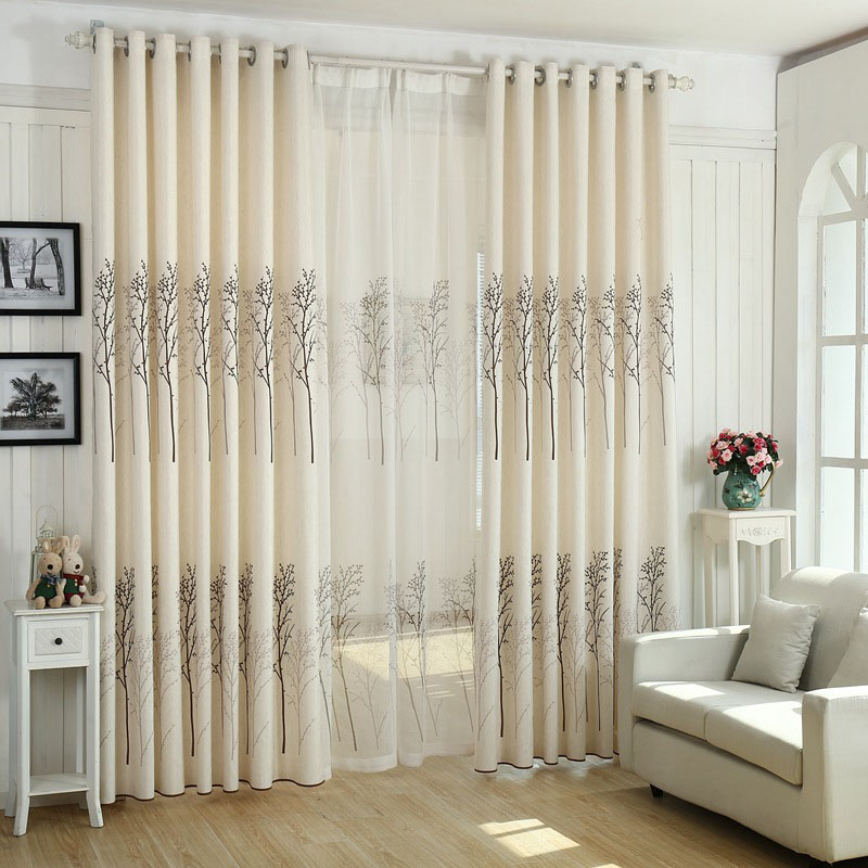 white curtains for living room nordic birch rustic modern minimalist black white shower 20828