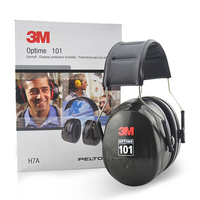 3M H7A Anti noise Earmuffs Ear Protector Professional Soundproof Ear muffs Headset Sound Insulation for working sleeping study