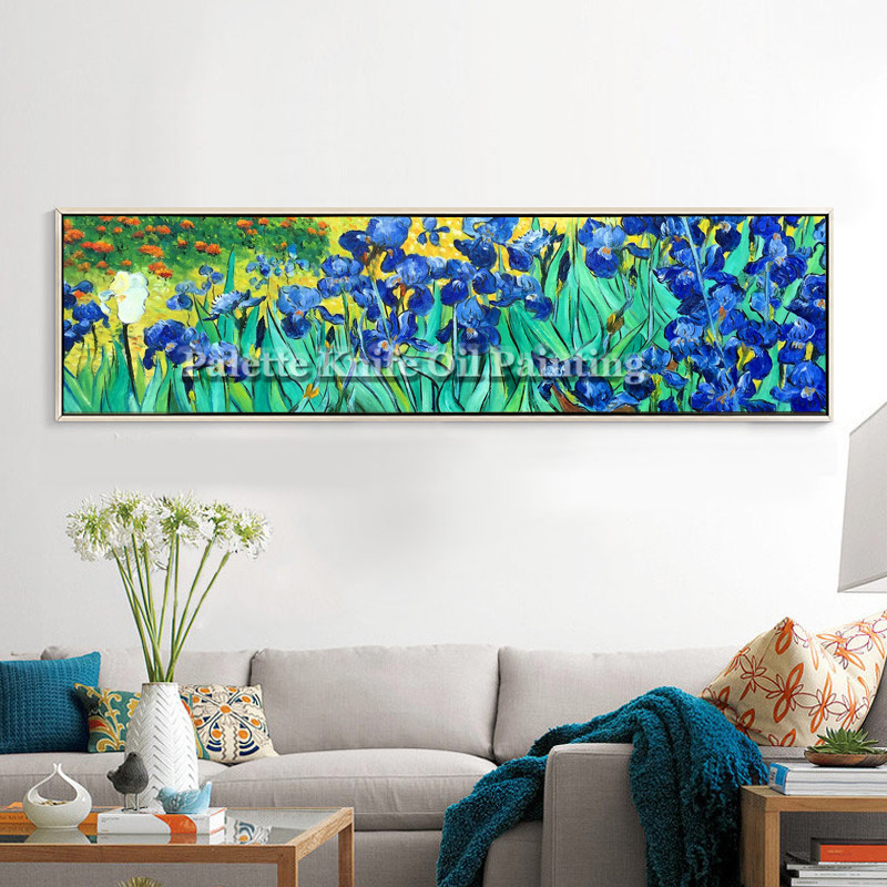 Hand Painted Canvas Painting van Gogh wall Art pictures for living room Bed Room Home vintage home decorative Reproduction 2 in Painting Calligraphy from Home Garden