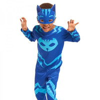 Itsameal Catboy Owlette Gekko Coaplay Costumes Kids Cape With Masks Wristband Clothing Children Hallowmas Christmas Jumpsuits