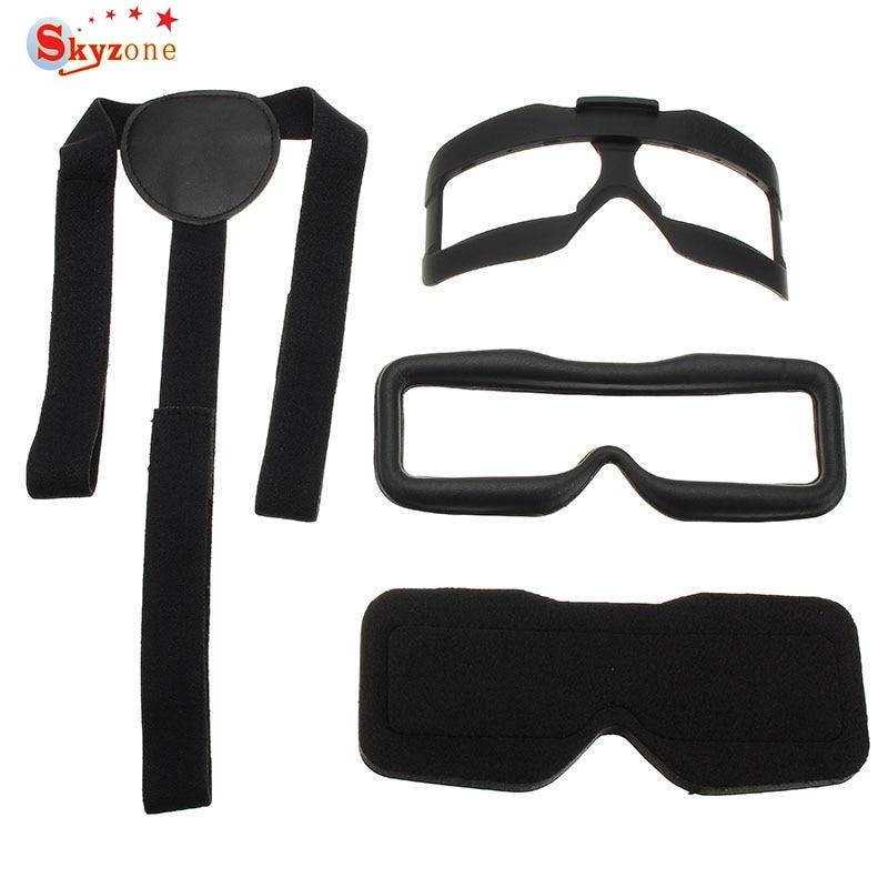 Original Skyzone SKY02S V+ FPV Goggles Accessory Face Plate Sponge Foam Pad Head Spare Part