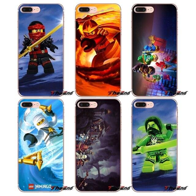 official photos 02a24 ece2e US $0.99 |Red lego ninjago kai Pattern 2 Silicone Phone Bag Case For Apple  iPhone X 4 4S 5 5S SE 5C 6 6S 7 8 Plus 6sPlus 6Plus 7plus 8plus-in ...