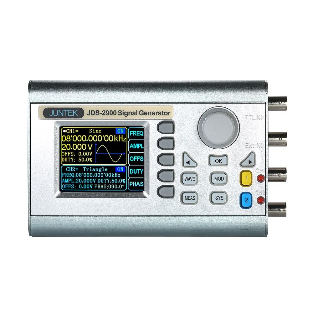 Générateur de Signal de fonction DDS double-CH numérique professionnel de JDS2900-60M générateur de fréquence de forme d'onde arbitraire d'impulsion