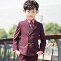 Высокое качество 2016 почетный малыш костюм мальчика камвольно настройка цвета Regualr специальный свадебный YIYI мальчиков наряд BA023