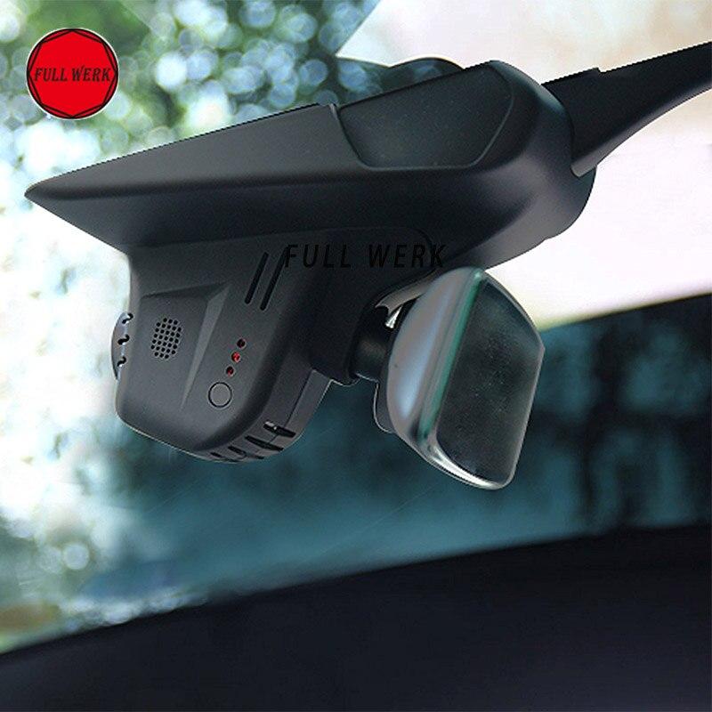 Caméra enregistreur vidéo de tableau de bord de voiture Mini enregistreur de conduite avec 32 GB pour Tesla modèle X avec matériel de pilote automatique 2.0