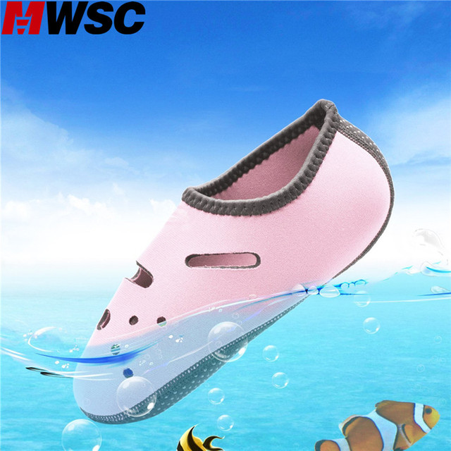MWSC Summer New Waterproof Casual Shoes Unisex Casual Breathable Aqua Stretchable Leisure Shoes for Beach