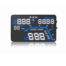 Car HUD GPS Speedometer Head UP Display Overspeed Alarm for VW Volkswagen Golf CC Touran  Touareg Jetta Passat Polo car styling