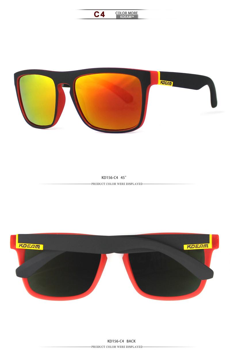 Kdeam Men's Polarized Sunglasses