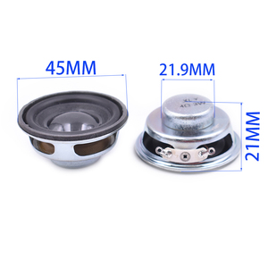 Image 5 - Tenghong 2 stuks 45 MM Full Range Speaker 4Ohm 3 W Draagbare Audio Luidspreker Voor Home Theater Sound Muziek bluetooth Luidspreker DIY