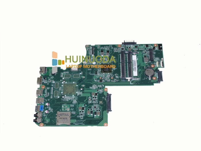 NOKOTION For Toshiba Satellite C75D L75D Laptop Motherboard DA0BD9MB8F0 A000243950 A6-5200 CPU On Board DDR3 works nokotion genuine h000064160 main board for toshiba satellite nb15 nb15t laptop motherboard n2810 cpu ddr3